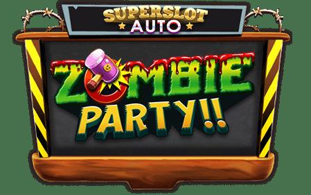 Zombie party logo