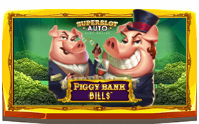 Piggy Bank Bills Banner